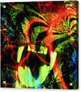 Anger Tunnel Acrylic Print