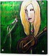 Angie Stevens Solo Acrylic Print