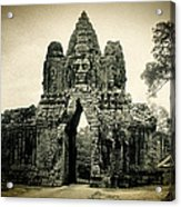 Angkor Thom Southern Gate Acrylic Print
