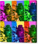 Angkor Warhol #2 Acrylic Print