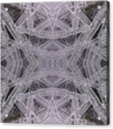 Angles In Ice On Monadnock - A1 Acrylic Print