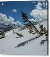Angles Of The Mountain Acrylic Print