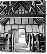 Anglican Church At James Fort Interior Acrylic Print