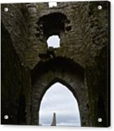 Anglo - Norman Castle. Acrylic Print
