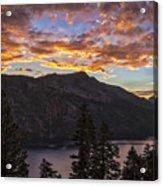 Angora Ridge Sunset 9 Acrylic Print