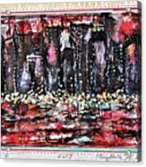 Angry City 2 Acrylic Print