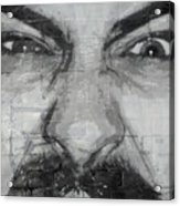 Angry Man Acrylic Print