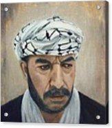 Angry Palestinian Acrylic Print by Gizelle Perez