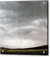 Angry Sky - Montana Acrylic Print