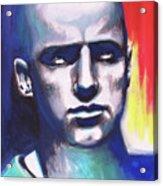 Angry Young Man Acrylic Print