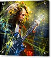 Angus Young Acrylic Print