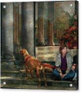 Animal - Dog - Hello There Acrylic Print