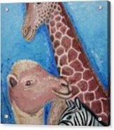 Animals Ladies Acrylic Print