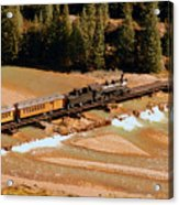 Animas River Crossing Acrylic Print