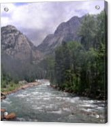 Animas River Morning Acrylic Print