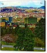 Ankara Acrylic Print