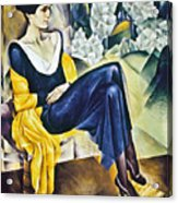 Anna Akhmatova (1889-1967) Acrylic Print