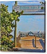 Anna Maria City Pier Landmark Acrylic Print