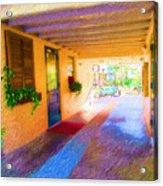 Anna Maria Elementary Office Hallway C130662 Acrylic Print