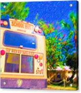 Anna Maria Elementary School Bus C131270 Acrylic Print