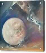 Anna Maria Moonset Acrylic Print