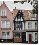 Anna Sewell's House In  Great Yarmouth Acrylic Print