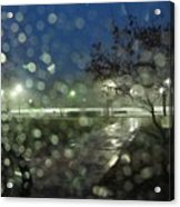 Annapolis After The Rain Acrylic Print