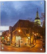 Annapolis Main Street Acrylic Print