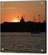 Annapolis Sunset Acrylic Print