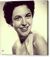 Anne Bancroft, Vintage Actress Acrylic Print
