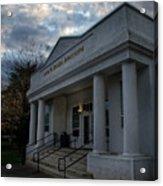 Anne G Basker Auditorium In Grants Pass Acrylic Print