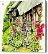 Anne Hathaway Cottage Acrylic Print