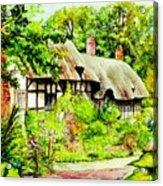 Anne Hathaways Cottage  Acrylic Print