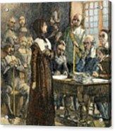 Anne Hutchinson, 1591-1643 Acrylic Print