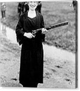 Annie Oakley, American Folk Hero Acrylic Print