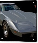 Anniversary Corvette Acrylic Print