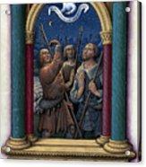 Annunciation To Shepherds Acrylic Print