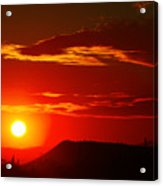 Another Beautiful Arizona Sunset Acrylic Print