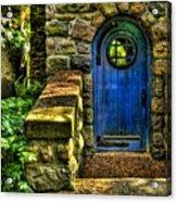 Another Blue Door Acrylic Print