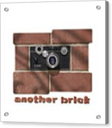 Another Brick . . 2 Acrylic Print