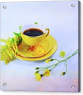Another Cup Of Coffee Acrylic Print