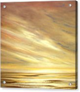 Another Golden Sunset Acrylic Print