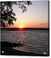 Another Hilton Head Sunset Acrylic Print