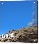 Another Hollywood Sign Acrylic Print