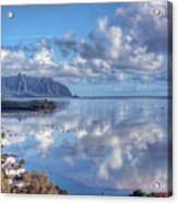 Another Kaneohe Morning Acrylic Print by Dan McManus