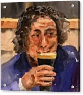 A Pint Please... Next Time. Acrylic Print