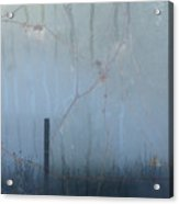 Another Rainy Day Acrylic Print by Rebecca Cozart