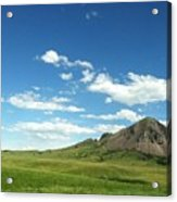 Another Side Of Bear Butte Acrylic Print