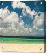 Anguilla - Another Spectacular Beach  Acrylic Print