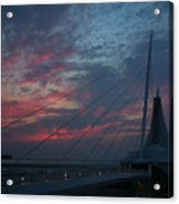 Another Sunrise At The Mam Acrylic Print